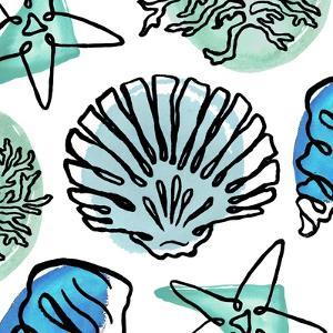 Coastal Contours Fusion I by Elizabeth Medley