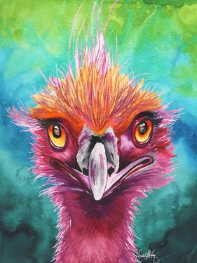 Emus Of A Feather by Elizabeth Medley