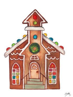 Gingerbread and Candy House II by Elizabeth Medley
