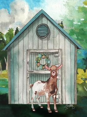 Goat Shed I by Elizabeth Medley