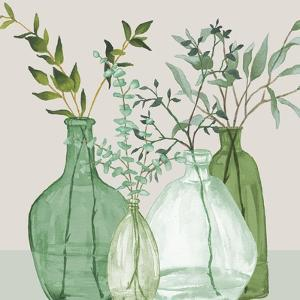 Green Serenity Accents by Elizabeth Medley