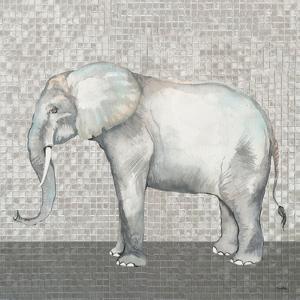 Introspective Elephant by Elizabeth Medley