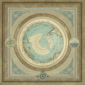 North and South Map II by Elizabeth Medley
