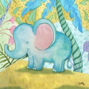Playful Elephant by Elizabeth Medley
