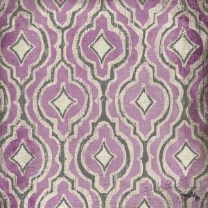 Purple Modele II by Elizabeth Medley
