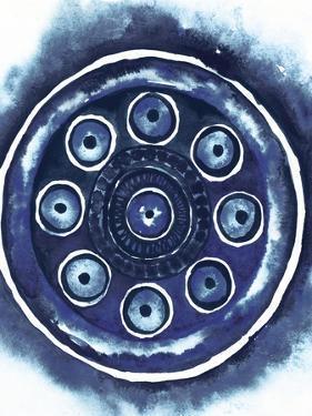 Shibori Circle I by Elizabeth Medley
