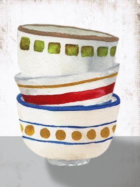 Stacked Bowls I by Elizabeth Medley