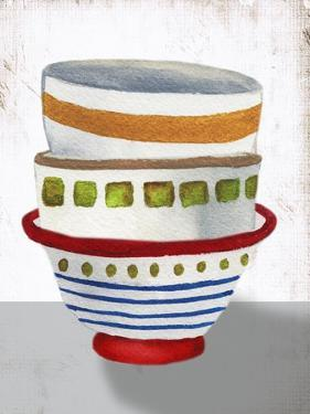 Stacked Bowls II by Elizabeth Medley