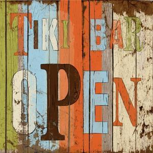 Tiki Bar Open by Elizabeth Medley