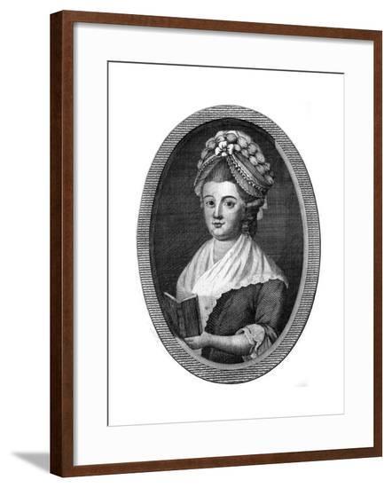 Elizabeth Raffald--Framed Giclee Print