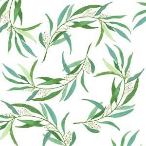 Eucalyptus Leaves by Elizabeth Rider