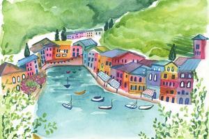 Genoa Port by Elizabeth Rider