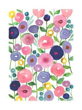 Poppies in Bloom by Elizabeth Rider