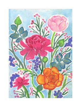 Ranunculus Bouquet by Elizabeth Rider