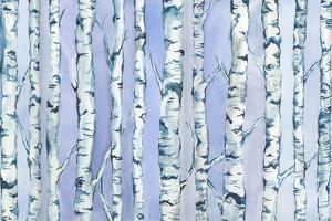 Silverbirch Forest by Elizabeth Rider