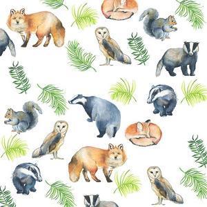 Woodland Animals by Elizabeth Rider