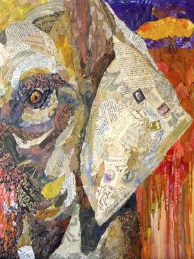 Africa on Collage I by Elizabeth St. Hilaire