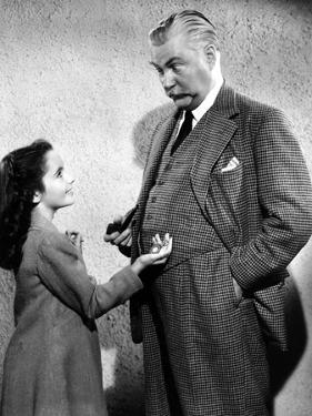 Elizabeth Taylor / Nigel Bruce LASSIE COME HOME, 1943 directed by FRED M. WILCOX (b/w photo)
