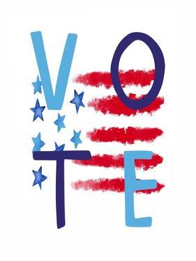 Vote Flag II by Elizabeth Tyndall