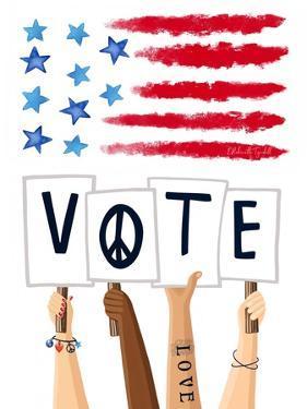 Vote Signs by Elizabeth Tyndall