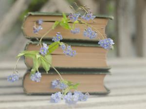 Forget Me Not Bookmarks by Elizabeth Urqhurt