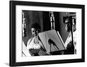 Ella Fitzgerald  American Jazz Singer with Louis Armstrong  Jazz Trumpet Player