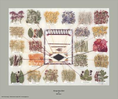Navajo Dye Chart by Ella Myers
