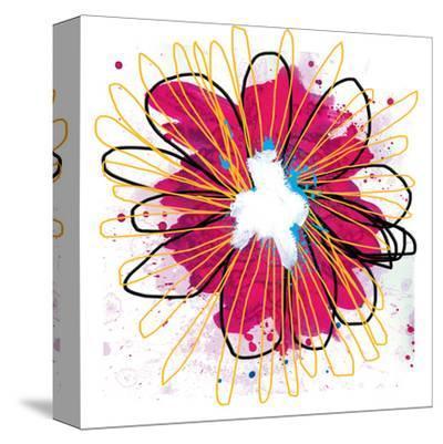 Fuchia Splash Flower by Elle Stewart