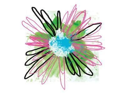 Pink Splash Flower