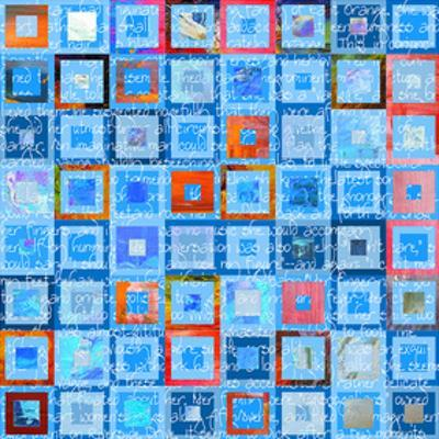 Woven Word Quilt 1