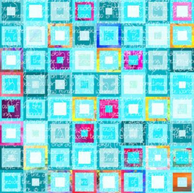Woven Word Quilt 2