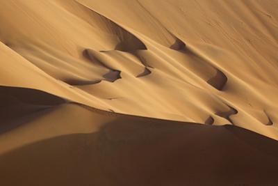 China, Inner Mongolia, Badain Jaran Desert. Desert scenic. by Ellen Anon