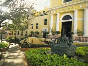 Grand Hotel El Convento and Plaza, Old San Juan, Puerto Rico by Ellen Clark