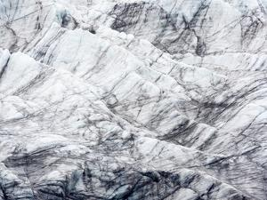 Arctic, Svalbard, Spitsbergen. Ice at the foot of a glacier by Ellen Goff