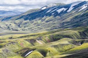 Iceland, Fjallabak Nature Reserve, Landmannalaugar. by Ellen Goff