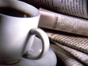 Cup of Coffee by Various Foreign Newspapers by Ellen Kamp