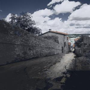 Street, Montalcino, Italy by Ellen Kamp