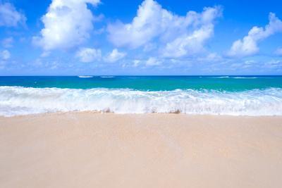 Sandy Beach Background