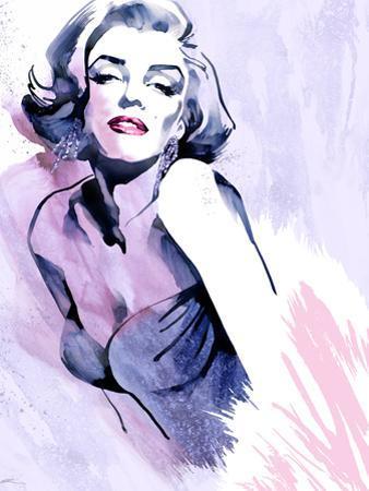 Marilyn in Purple by Ellie Rahim