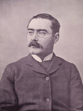 Rudyard Kipling Photograph Taken in 1895 by Elliot & Fry