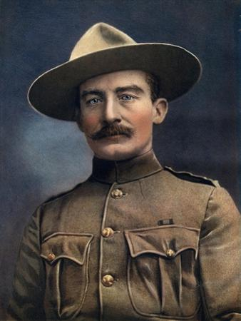 Colonel Baden-Powell, Lieutenant-General in the British Army, 1902