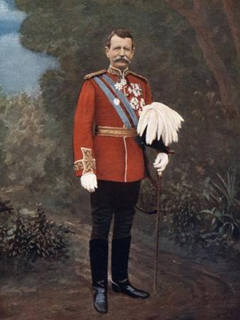 General Sir Charles Warren, British Soldier, 1902