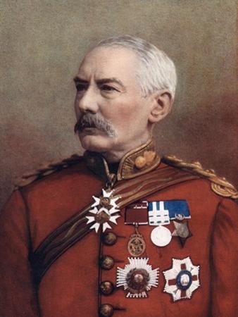 Lieutenant-General Sir Charles William Wilson, British Soldier, 1902