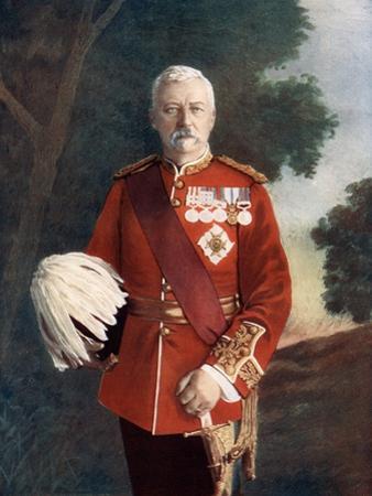 Lieutenant General Sir Robert Low, 1900
