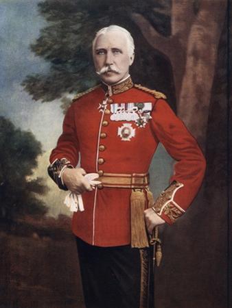 Major General Sir Bindon Blood, British Soldier, 1902