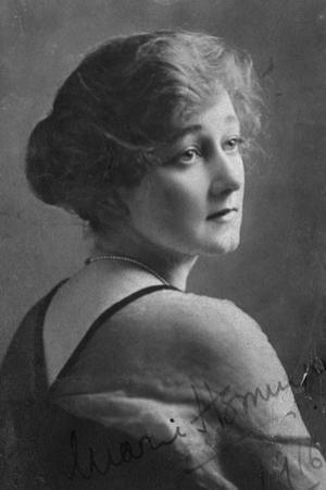 Marie Hemingway (1883-193), English Actress, 1916