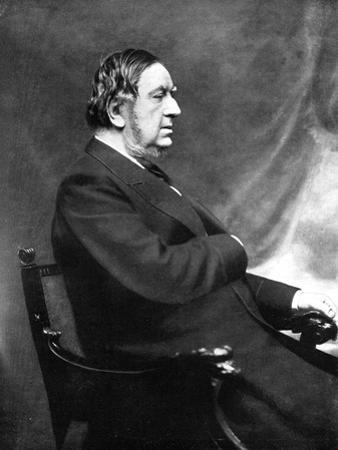 Sir William Vernon Harcourt, British Liberal Statesman, 19th Century