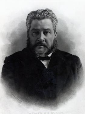 Reverend Charles Haddon Spurgeon, after a Photograph by Elliot and Fry by Elliott & Fry Studio