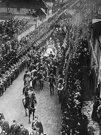 The Passing of Queen Victoria, 1901