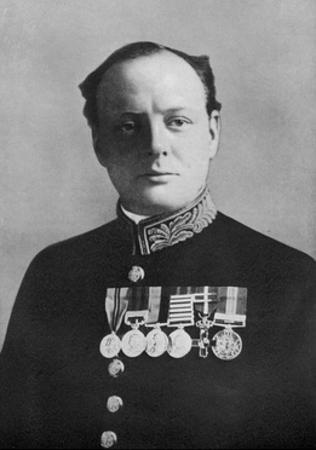 Winston Churchill, First Lord of the Admiralty, 1914-1915